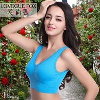 Fashion Wireless seamless underwear women's thin push up sexy bra plus size sports bra free shipping