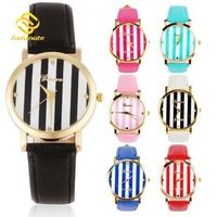 7 Colors Fashion GENEVA Women Dress Watches Ladies Quartz Wristwatches Casual Leather Strap Watches relogio feminino