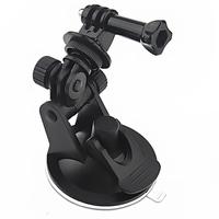 Mini Suction Cup Mount +tripod mount +handle screw for GoPro HD HERO HERO2 HERO3 Camera