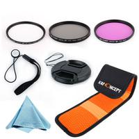 Free Shipping Optical glass Brand New K&F Filter Set 72MM UV CPL FLD Filter Kit for EF 135mm f/2L USM