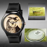 Hot Willis for Mini Owl Pattern Design Fashion women dress Water Resistant Analog Wrist quartz Watch ladies watch free shipping