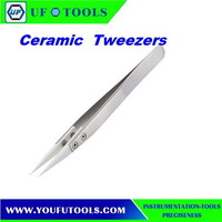 Ceramic Tip Tweezers Heat Resistance Ceramic Tweezers Factory For Electronic Cigarette Tools