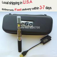 EGo CE4 Electronic Cigarette Starter Kits eGo-T Battery 650mah 900mah 1100mah CE4 Atomizer with 5 Colors E Cigarette Case #G0002
