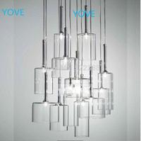 Vintage Glass Pendant Lights Modern ABC Tom Dixon Ikea Lustres E Pendentes Lamps Muuto Lustres De Teto Chandeliers And Pendants