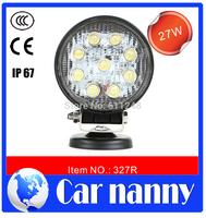 DIY 27W High brightness car led DRL Motorcycles/ SUV headlight refit Work lights/construction vehicles Spotlight