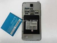 "2pcs/Lot Original Android Phone Capacity 2000Mah Battery For 4.5"" Star/ Tianhe W800 MTK6582 Original Phone Battery Free shipping"
