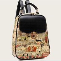 New 2014 fashion school bags women backpack mochila feminina