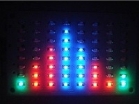 1pc new RGB LED 8*8 Audio digital Level Meter display Spectrum Analyzer For amplifer