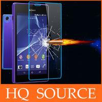 100pcs Explosion Proof Premium Tempered Glass screen protector FOR sony xperia z l36h z1 l39h z1 mini m51w z2 l50w+retail box