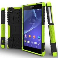 Hybrid Heavy Duty Rugged Case Hard TPU + PC Case Cover For Sony Xperia Z2