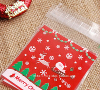 "4.33"" Cellophane Christmas XMAS Cello Candy Bags Party Loot Gift Presents Treat Bags All ON here"