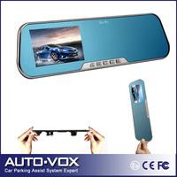 "H.264 Car DVR Full HD Camera 4.3"" G-Sensor Moniton Detection Night Vision HD DVR+ Rearview Mirror Anti-glare"