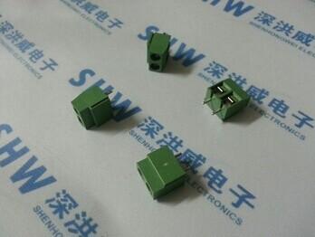 Free Shipping(100Pcs/lot) 2P Pitch:5.0mm KF126-5.0-2P Euro type PCB screw terminal block connection(China (Mainland))