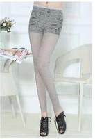 2014 summer new Korean Women Slim thin candy-colored leggings k01p35