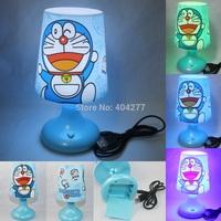 Cute Cartoon Doraemon USB Battery LED Night Lamp,Multicolor Lamplight Night Lights