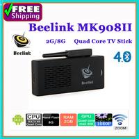 Beelink MK908II RK3188 Quad Core TV Stick Mini PC Media Player Google Android 4.4 2GB/8GB WIFI 1080P XBMC HDMI Smart TV Dongle