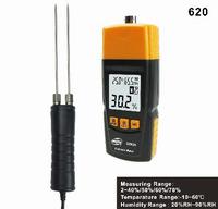 Long probe digital moisture wood meter 620
