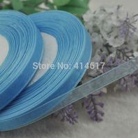 "100Y 3/8"" (10 mm) Sheer Wedding Appliques Craft sewing S065-blue"