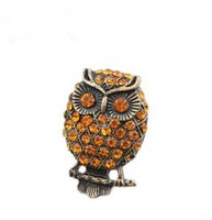 Adjustable Owl Ring Alloy Finger Ring Owl Jewelry Owl Charm
