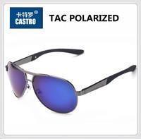2014 Classic Pilot Male Polarized Coating Sunglass Man Polaroid Sunglasses Brand Designer Men Driving Fishing Sports Sun Glasses