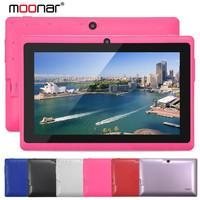 Q88 Dual Core Tablet PC 7 inch 800*480 Android 4.4 Allwinner A23 512MB RAM 8GB ROM Dual Camera OTG Wifi XPB0206