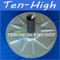 Fedex freeshipping! 3000W/3KW 180RPM Disc coreless permanent magnetism vertical axis alternator/wind generator motor