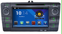 Pure Android 4.22 OS Skoda Octavia 2004-2011  with Capacity Screen Dual Core GPS BT Radio 3G Built-in WIFI