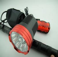 Waterproof 8.4-18v 15000 Lumen 9x CREE XM-L L2 LED BICYCLE LIGHT BIKE LAMP Headlight Headlamp Head SET 12000mAh battery Charger