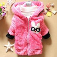 Baby Girls Warm Coat Baby Girls Outwear Coat Winter jacket Free Shipping K8018