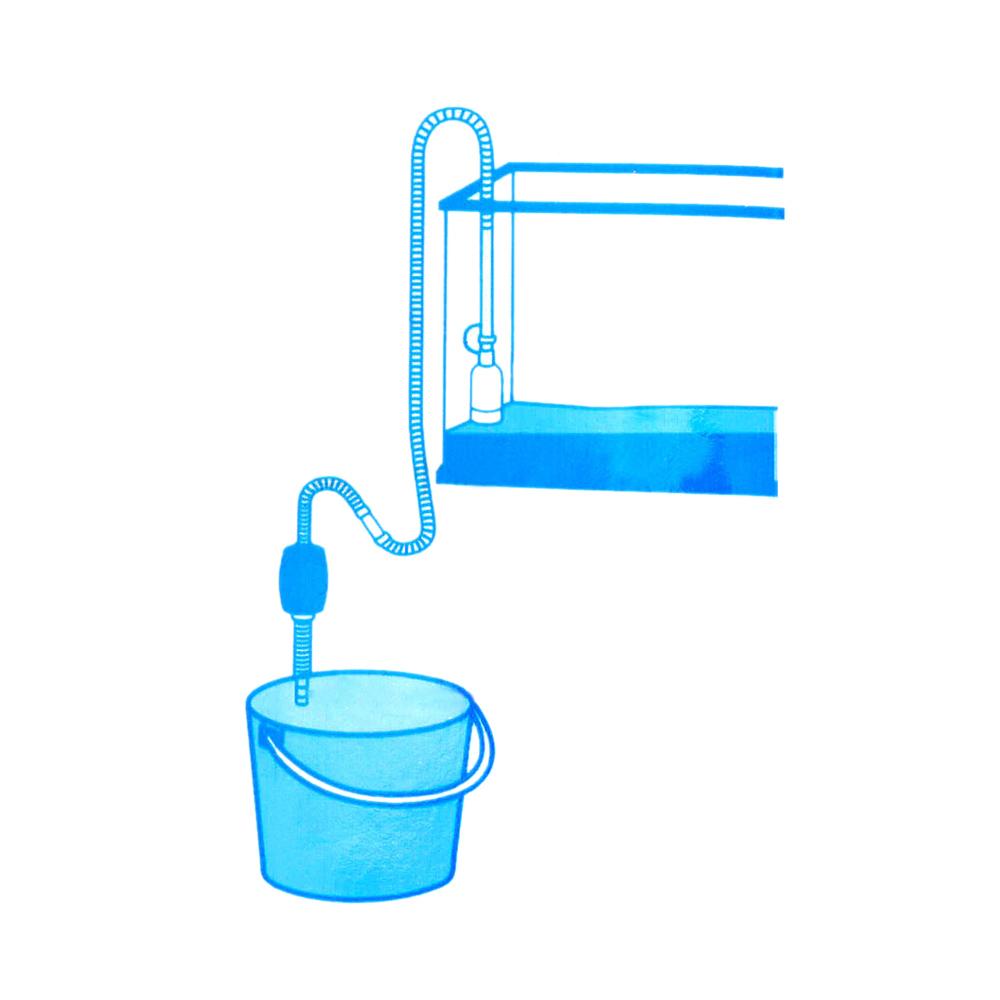 2014 New Aquariums Decoration Fish Tank Siphon Gravel Manual Cleaner Pump Safe Vacuum Water Change Aquarium Air Pumps(China (Mainland))
