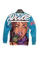 2014 Spring New Wale Feat. J. Cole Bad Girls Harajuku 3D Sweatshirt for Girls Women Street Fashion Punk Free Shipping
