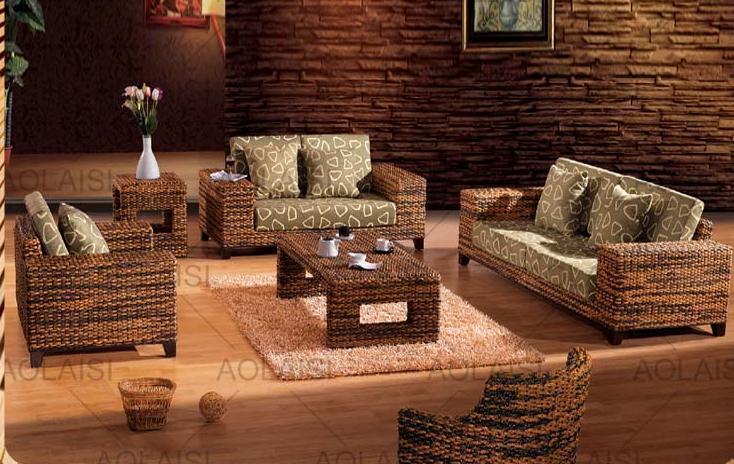 home furniture,modern rattan sofa set ,sofas for living room(China (Mainland))