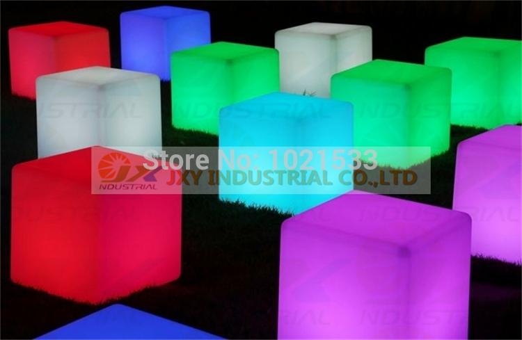 Hot sale 40x40x40cm led cube led rgb designed furniture rgb led cube free shipping(China (Mainland))