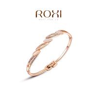 ROXI 2014 New Fashion Jewelry Platinum Plated Statement Elegant Opals Bracelets For Women Party Wedding Free Shipping