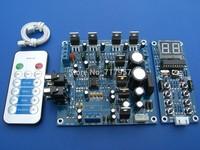 2.1 channel amplifier board tda2030a kit ( spare parts ) BTL bass remote programming DIY Electronics Design DIY amplifier board