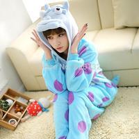 Monsters University Sullivan Cosplay Pajamas Christmas Costume Animal Pajamas One Piece Women Costume Cosplay Pyjamas