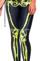 ZCXR Women Leggings Reflective print Girl's Sexy Leggings High Elastic Skinny Pants Quick Dry Plus size Women Elastic Pants