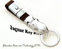 Hot Sales Luxury Genuine Leather Key Chain, 1 Piece Car LOGO Keychain Jaguar Key Ring Trinket  Low Shipping Fee helikopter