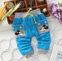 Autumn and Winter children pants boy pants children trousers  baby pants cartoon Kids pants boys trousers