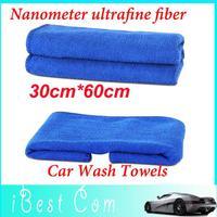 5pcs Drop shipping Superfine Nanometer ultrafine fiber car wash towels auto supplies polishing cloth soft car washing helikopter