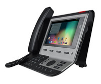 4,2 Android Video telephone SIp Phone POE Gigabit 6 sip lines