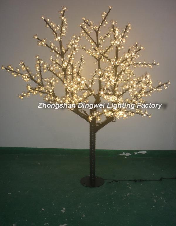 2PCS/CTN-AC110V/240V 160CM 648LEDs Outdoor Landscape Lighting LED Cherry Blossom Tree Lights(China (Mainland))
