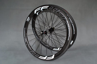 Free shipping white FFWD-F5R Clincher Road Bike Carbon wheels carbon rims 700C-50mm 20/24H