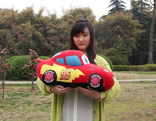 "Big Size 17"" Soft Classic Cartoon Cars Plush Toys Stuffed Plushies Cuddly Toy 45CM(China (Mainland))"