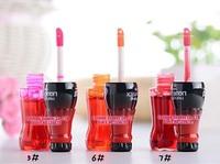 12pcs/lot Super waterproof lip gloss HENGFANG lipstick rose red waterproof 3 colors could choose Lipstick water