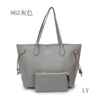 2014 Fashion Suede Women Messenger Bag, Plaid Bucket Women Leather Handbags Drop Shipping Available
