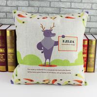 New Christmas Creative home, fashion European classical features Printed cotton and linen pillow cover sofa cushion case 45*45cm
