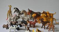 Playmobil amimals 1.5cm to 4cm  10pcs/set  playmobile toys blocks  figures play game  children  toy 3