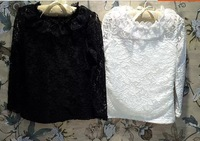 Girls lace long sleeved shirt