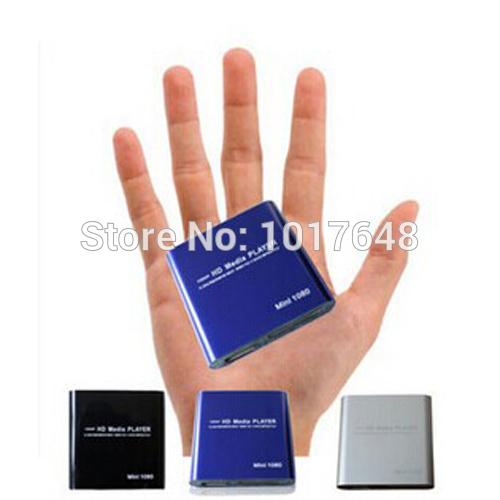 Wholesale Mini Media Player Mini 1080P HDMI SD/USB HD Media Player MKV/RM/RMVB(China (Mainland))